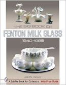 Fenton milk glass book