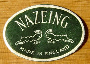 Nazeing label