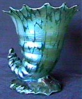 Loetz glass vase